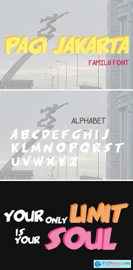 Pagi Jakarta Font