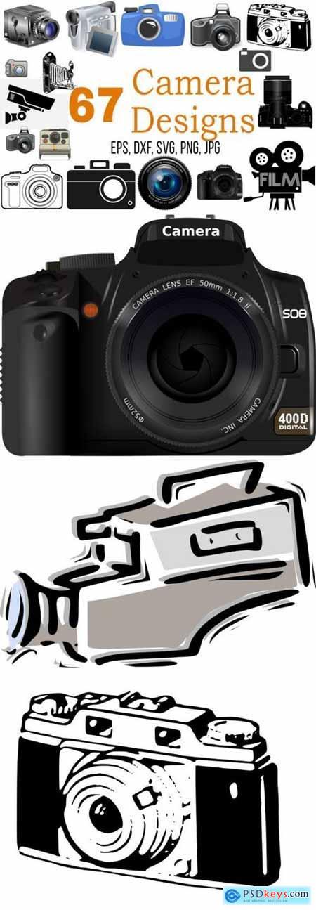 67 Camera Designs Image Bundle
