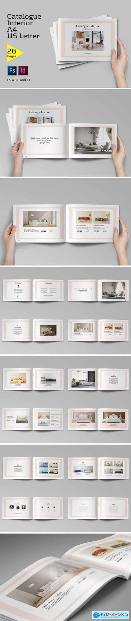 Creativemarket Catalogue Interior