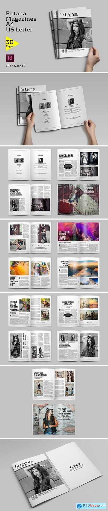 Creativemarket Firtana Magazines