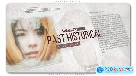 Videohive Shadows of Past Historical Slideshow