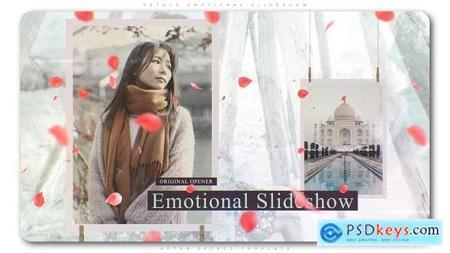 Videohive Petals Emotional Slideshow