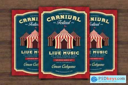 Carnival Fest Flyer