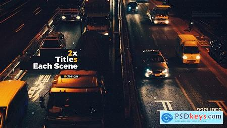 Videohive Double Titles Parallax Presentation
