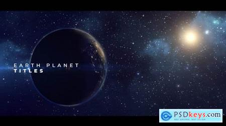 Videohive Earth Planet Titles 23254564 Free Premiere Pro Project