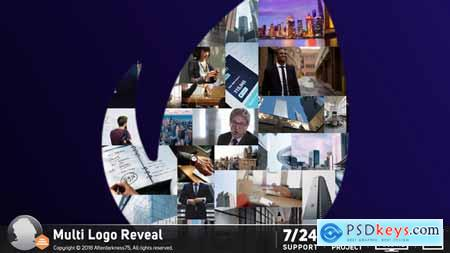 Videohive Multi Logo Reveal