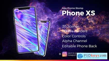 Videohive App Promo Stomp Phone XS