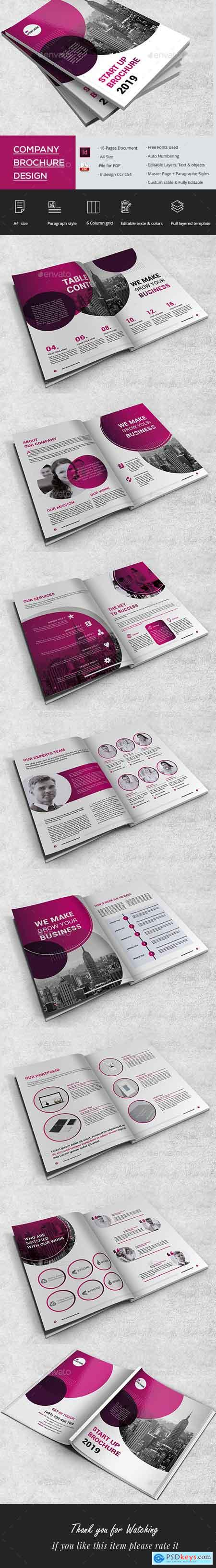 Graphicriver Clean Start Up Brochure