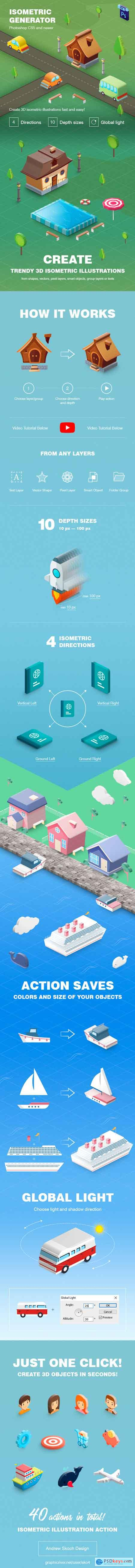 GraphicRiver Isometric Generator