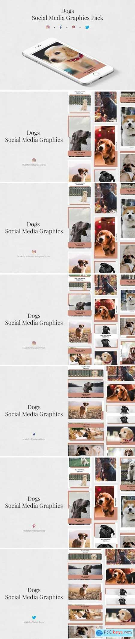 Creativemarket Dogs Pack