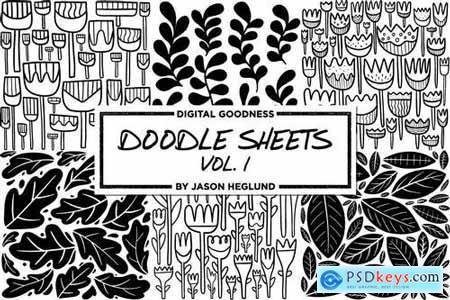 Doodle Sheets Vol. 1