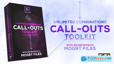 Videohive Call-Outs Tool Kit MOGRT Files for Premiere Pro
