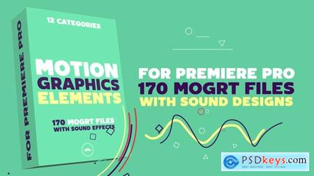 Videohive Motion Graphics Elements Pack MOGRT for Premiere Pro