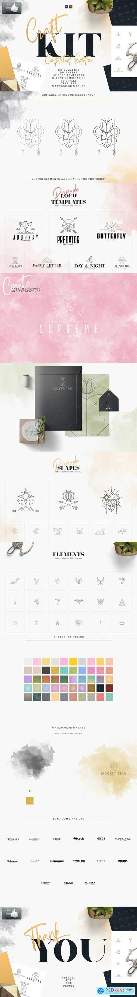 Creativemarket Craft Kit - Completed Edition