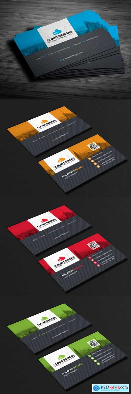Thehungryjpeg Corporate Business Card