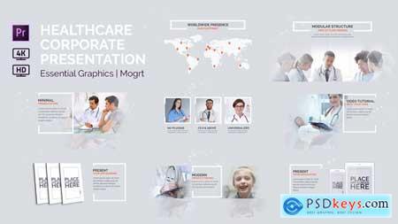 Videohive Healthcare Corporate Presentation Essential Graphics Mogrt