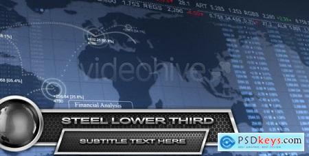 VideoHive Steel Lower Third HD