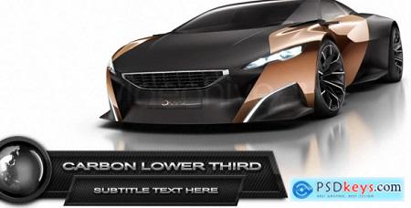 VideoHive Carbon Lower Third