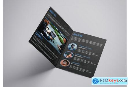 Thehungryjpeg A4 Clean Brochure Design