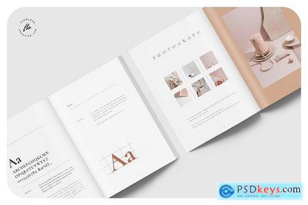 Creativemarket ELEVEN Brand Manual & Guidelines