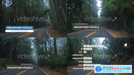 VideoHive Clean Lower Thirds and Titles