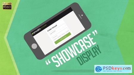 VideoHive Showcase Device Display
