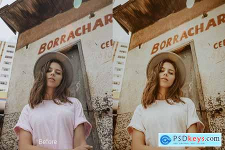 Creativemarket Cloudberry Lightroom Preset