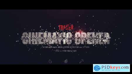 Videohive Trailer I Cinematic Opener Free