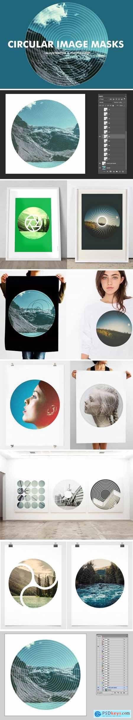 Circular Image Masks