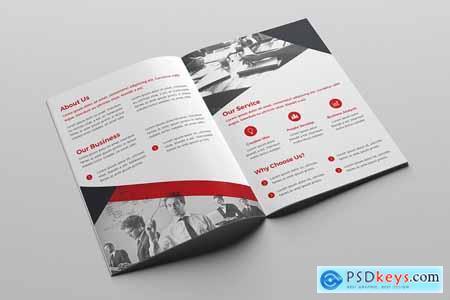Creativemarket Business Bi-Fold Brochure
