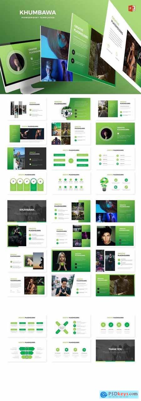 Khumbawa - Powerpoint, Keynote, Google Sliders Templates
