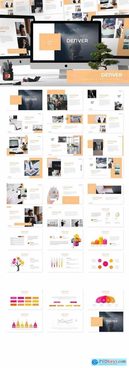 Denver - Powerpoint, Keynote, Google Sliders Templates