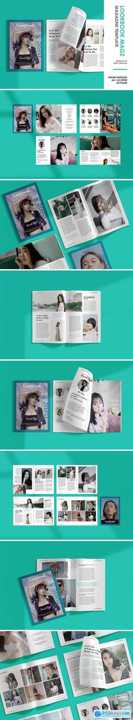 Lookbook - Fashion Magazine