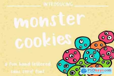 Monster Cookies Font