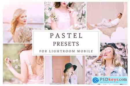 Creativemarket Lightroom Mobile PASTEL PRESETS