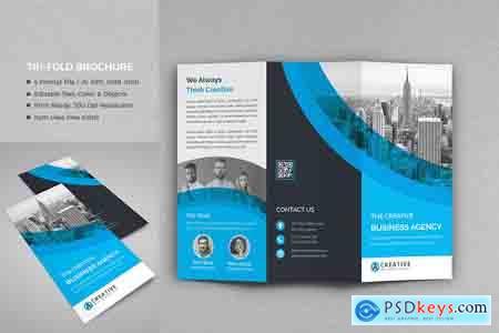 Creativemarket Tri-Fold Brochure