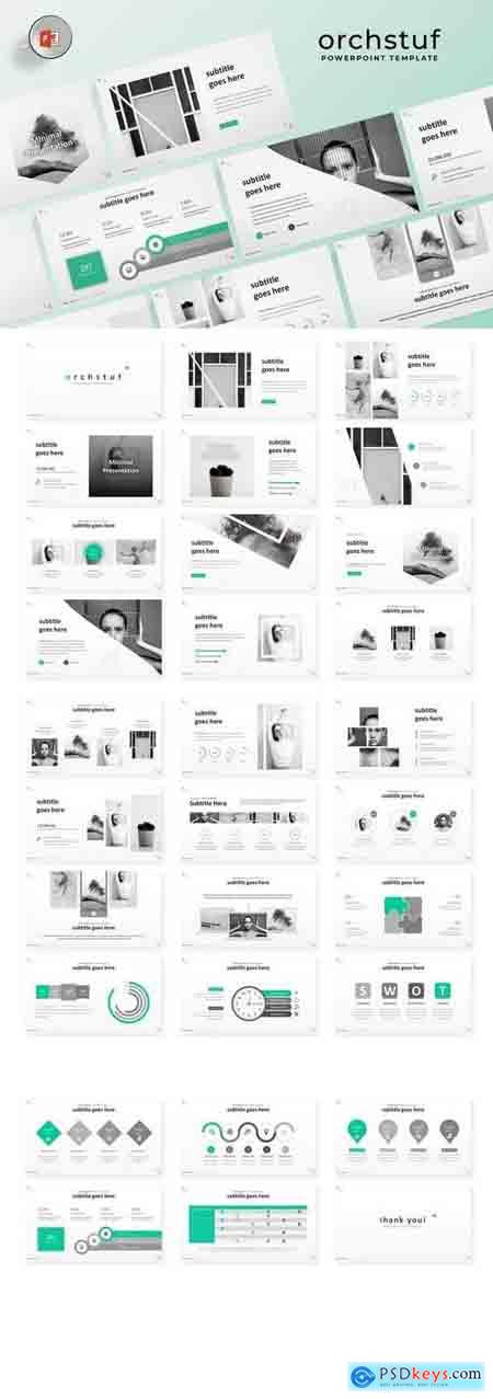 Orch - Powerpoint, Keynote, Google Sliders Templates