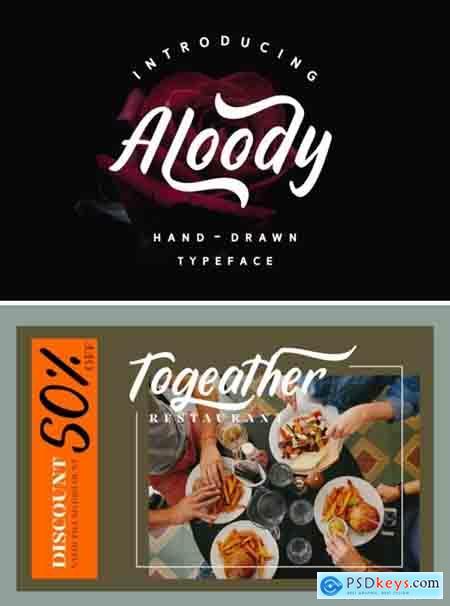 Aloody Font