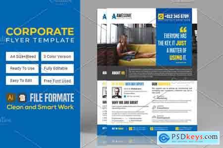 Creativemarket Corporate Business Flyers Bundle