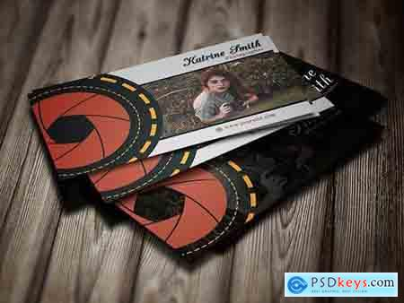 Creativemarket Photographer Business Cards