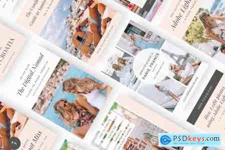 Creativemarket Travel Blogger Pinterest Bundle