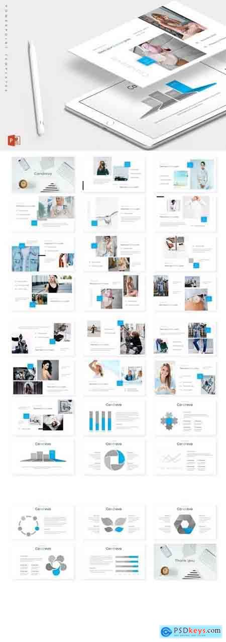 Candreva - Powerpoint, Keynote, Google Sliders Templates