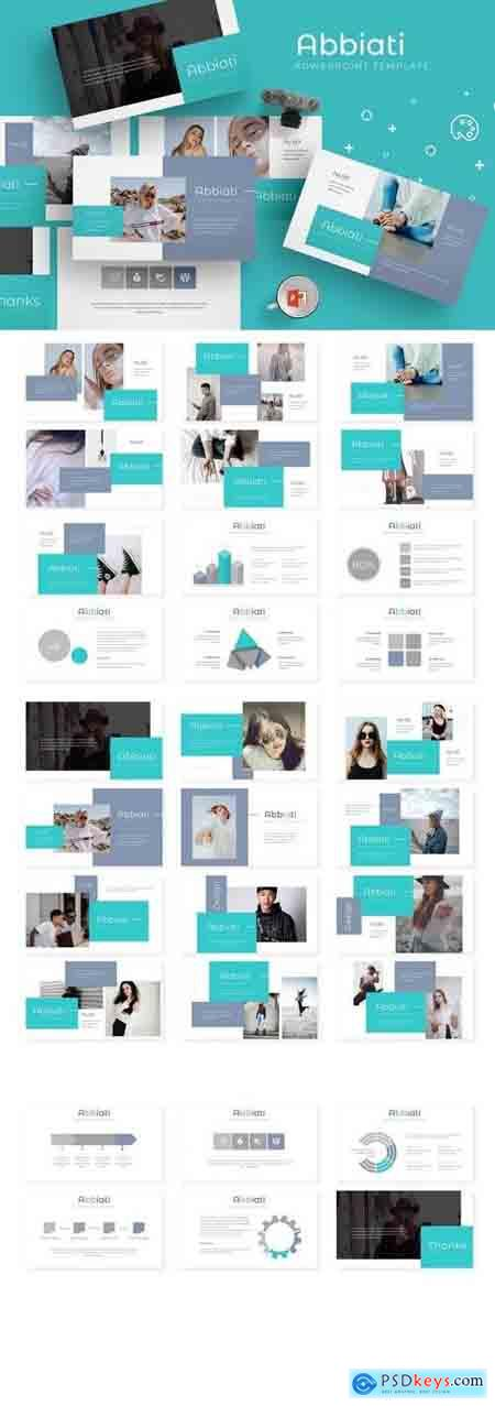 Abbiati - Powerpoint, Keynote, Google Sliders Templates