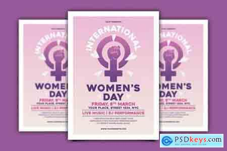International Women's Day Flyer