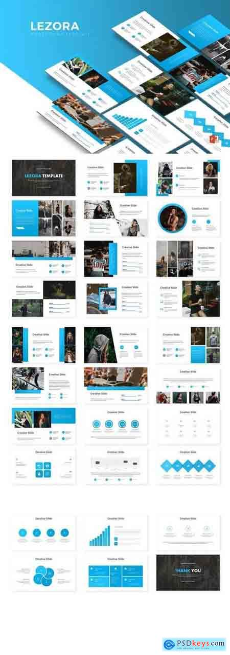 Lezora - Powerpoint, Keynote, Google Sliders Templates
