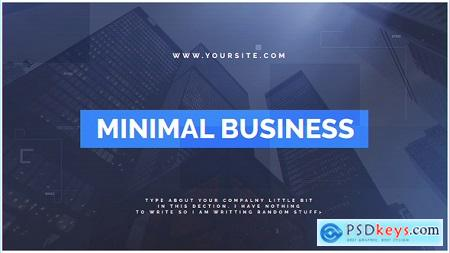 Videohive Minimal Business Free