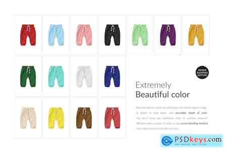 Creativemarket Baby Trousers Mock-ups Set Generator
