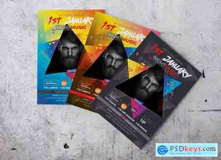 Creativemarket Concert Flyer Templates