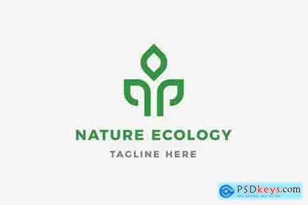 Nature Ecology Logo Template