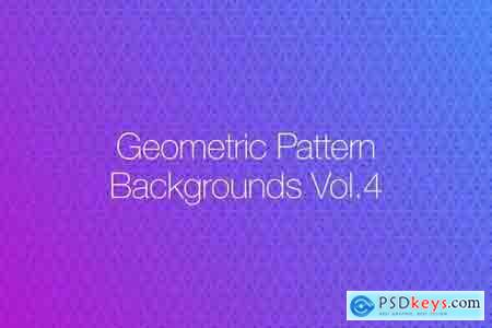 Geometric Pattern Backgrounds vol.4